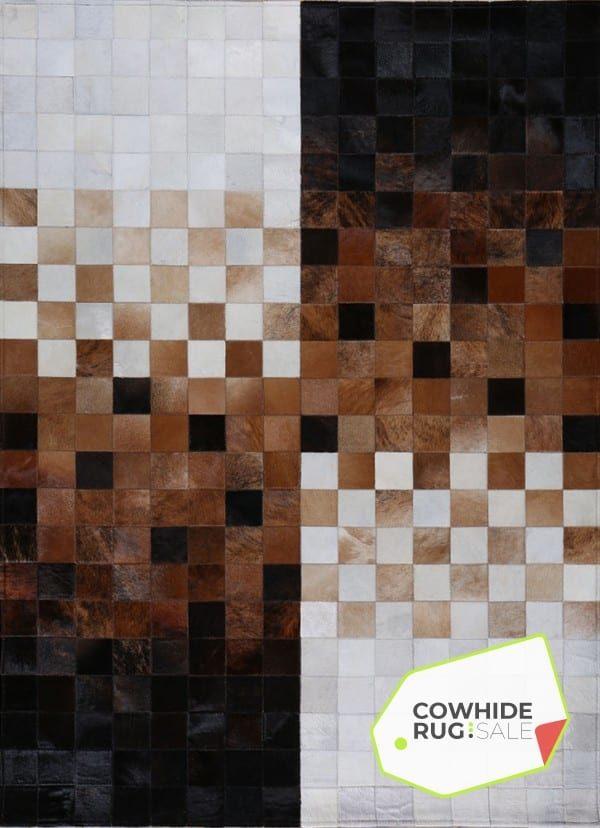 Checkered Mosaic Rug