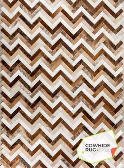 Earth Tone Chevron Rug