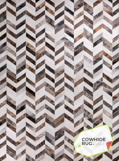 Earth Tone Herringbone Rug