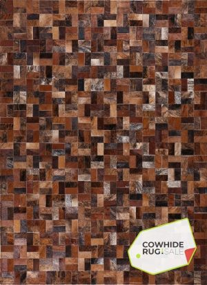 Earth Tone Mosaic Rug