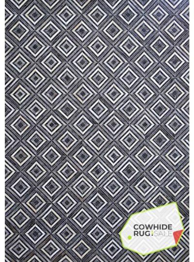Grayscale Geometric Rug