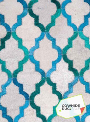 turquoise-aquamarine-trellis-cowhide-rug-3